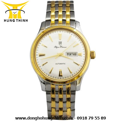 OP DÂY KIM LOẠI NAM AUTOMATIC OP990-14AMSK-T