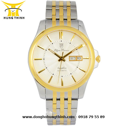 OP DÂY KIM LOẠI NAM AUTOMATIC OP995-09AMSK-T