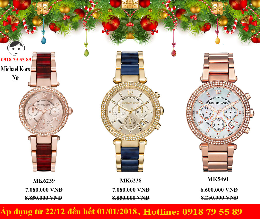 MERRY CHRISTMAS AND HAPPY NEW YEAR 2018 - GIẢM GIÁ TỪ 10%  ĐẾN 20%