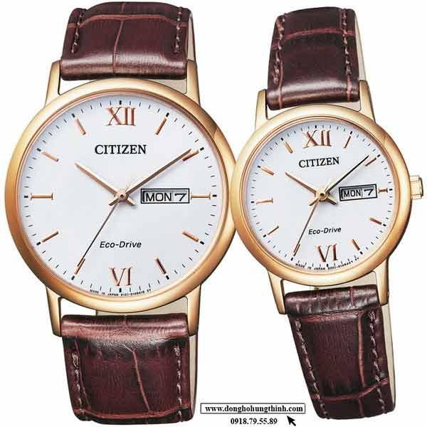 Những mẫu đồng hồ cặp Citizen chính hãng giá rẻ đẹp nhất