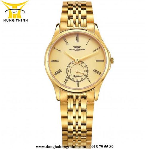 Những mẫu đồng hồ nam màu vàng sang trọng dành cho phái mạnh